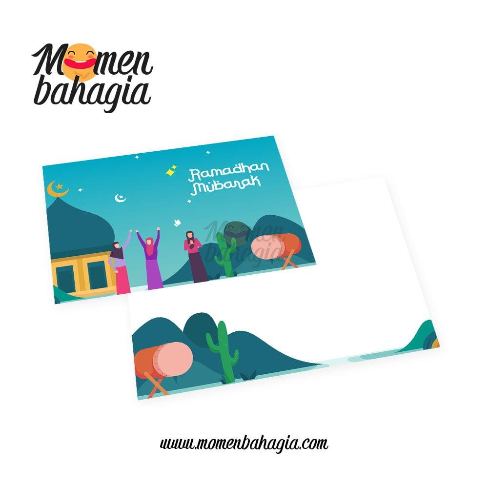Kartu Ramadhan unik